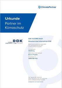 ClimatePartner_Urkunde2019_DOK_klein_Rahmen
